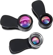 AMIR Phone Camera Lens, 180° Fisheye Lens, 25X ... - Amazon.com