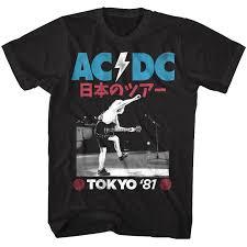 Details about <b>ACDC Tokyo</b> Japan Tour <b>1981</b> Men's T Shirt Angus ...
