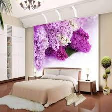 Bedroom  Bedroom Wall Murals Ideas Slate Pillows Lamp Bases The - Bedroom wall murals ideas