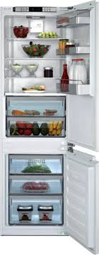 kitchen integrated hutch blomberg brfbffbi quot fully integrated refrigerator ice maker panel r