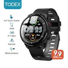 TODEX <b>S10plus Smart Watch</b> 1.3 inch Large Touch Screen IP68 ...
