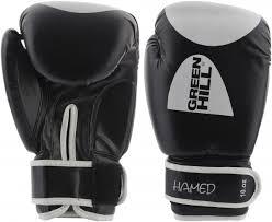 <b>Перчатки боксерские Green</b> Hill Hamed черный цвет — купить за ...