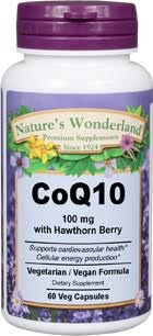 CoQ10 with <b>Hawthorn</b> Berry - 100 <b>mg</b>, 60 Vcaps™ (Nature's ...