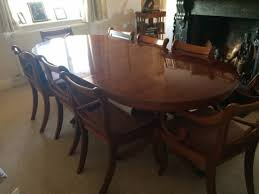 Yew Dining Room Furniture Secondhand Vintage And Reclaimed Reproduction Yew Wood Dining
