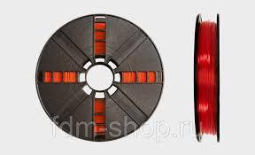 <b>PLA пластик</b> MakerBot 1.75 мм <b>Прозрачный оранжевый</b> 0.9 кг ...