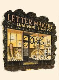 eric ravilious letter maker