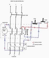 how to wire 3 phase contactor wiring diagrams and schematics contactors electromechanical relays electronics text single phase contactor wiring diagram