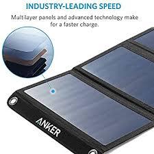 <b>Solar Panel</b>, Anker 21W 2-Port USB Portable <b>Solar Charger</b> with ...
