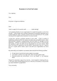 cold cover letters template cold cover letters
