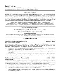 resume for teacher in doc  seangarrette co  english teacher resume sample  x   resume for teacher