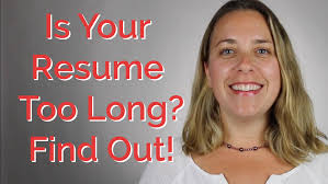 how long should my resume be careerhmo how long should my resume be careerhmo