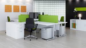 green office desk. elite flexi crescent green office desk s
