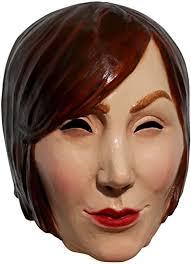Mannequin Adult Latex Mask <b>Creepy</b> Mannequin Head <b>Woman</b> ...