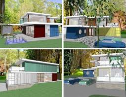 DIY Used Cargo Homes  amp  Shipping Container House Plansshipping container houses