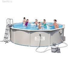 Каркасный морозоустойчивый бассейн <b>BestWay</b> 56384 460х120 см