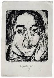 Ernst Ludwig Kirchner - <b>Mary Wigman</b> - A_mary_wigman