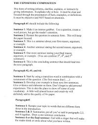 gallery of english essay outline example template on  interesting outline of an essay essay example with examples expository essay topics list essay topics police