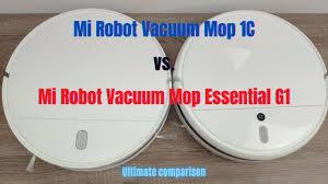 Xiaomi Mi <b>Robot Vacuum</b>-Mop 1C vs. Mi <b>Robot Vacuum</b> Mop ...