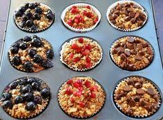 21 Day Fix Baked Oatmeal Cups | Recipe in 2019 | yummy food ...