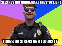 Scumbag Police Officer memes | quickmeme via Relatably.com