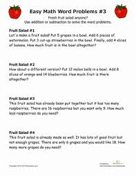 Simple Word Problems | Worksheet | Education.comFirst Grade Addition Subtraction Worksheets: Simple Word Problems