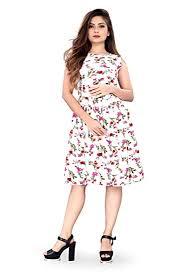 Buy <b>New</b> Ethical <b>Fashion</b> Women's Skater Knee Length Dress at ...