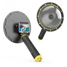 Купить <b>подводный</b> бокс - <b>Telesin</b> Dome Port для DJI Osmo Action ...