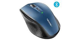 TECKNET <b>TECKNET Bluetooth Wireless Mouse</b> (BM308) (Blue ...