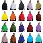 2 Piece <b>Muslim Islamic</b> Isdal <b>Scarf</b> Khimar & Skirt Prayer Dress ...