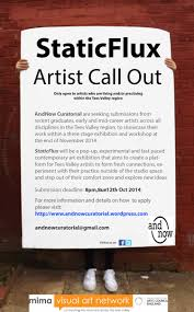 andnow curatorial curatorial collaboration new artist call out poster email