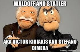 Waldoff and Statler aka Victor Kiriakis and Stefano DiMera ... via Relatably.com