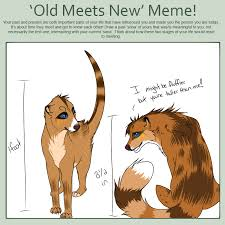 Old vs. New MEME by Spottedfire23 on DeviantArt via Relatably.com