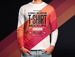 20 <b>Long Sleeve</b> Shirt Mockup Templates <b>2019</b> - Colorlib