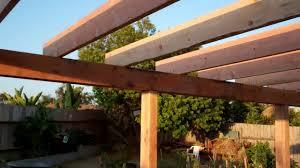 beam patio cover