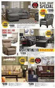 home furniture on black friday flyer