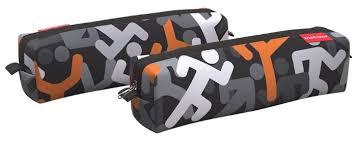 Купить ErichKrause <b>Пенал квадро mini</b> Walkers (48975) черный ...