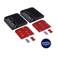 Onerbuy <b>2Pcs Wireless Car</b> Door LED Projector Light Courtesy ...