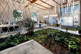 architecture awesome office atmosphere design on modern room decoration with circle way area interior design ideas awesome unique green office design