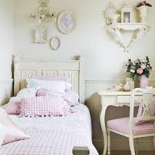 Shabby Chic Bedroom Wall Colors : Shabby chic bedroom ideas for girls white bedside storage floral