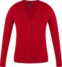<b>Джемпер женский GOLDEN</b> WOMEN, красный с логотипом ...
