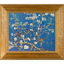Hand-Painted Reproduction of Van Gogh Branches of ... - Amazon.com