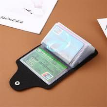 Женский <b>бумажник для кредитных карт</b>, 24 отделения для карт ...
