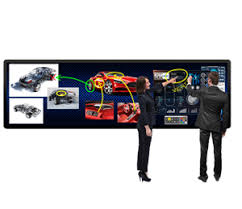 Planar LED MultiTouch <b>Interactive</b> Video Wall | Planar