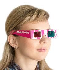 3d очки, 3д очки изготовление на заказ, <b>бумажные очки</b>, красно ...