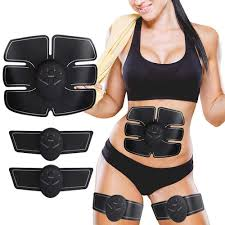 <b>Abdominal Muscle Stimulator Toner Rechargeable</b> Smart Abs ...