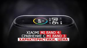 <b>Xiaomi Mi</b> Band 4: сравнение с Mi Band 3, характеристики, цена,