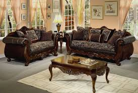 astonishing living room furniture sets with elegant dark brown sofas completed by cushions also furnished with wooden table on rug and table lamp on astonishing living room furniture sets elegant