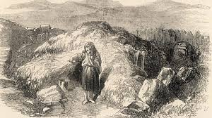Image result for 1845 Irish scalp