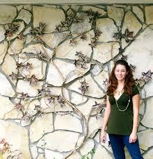 designs outdoor wall art: wall art ideas design creative grapevines copper outdoor wall