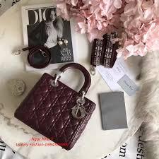 <b>Lady</b> Dior Medium with Crystal Shoulder Strap Red <b>DT20</b>